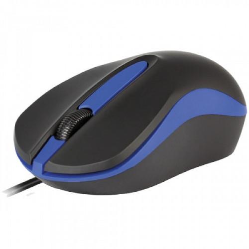 Мышь Smartbuy ONE 329, USB, черный, синий, 2btn+Roll
