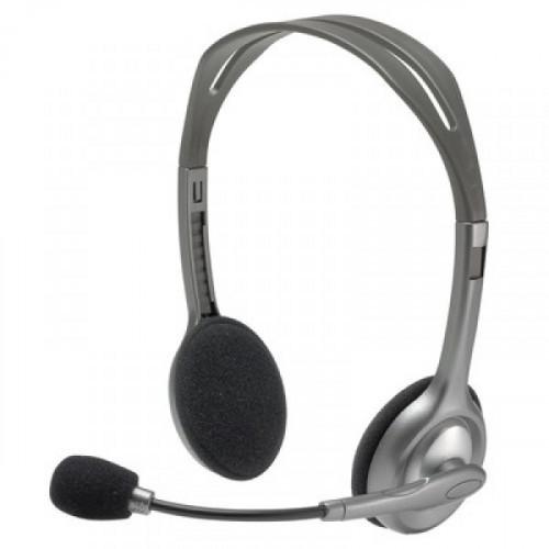 Гарнитура Logitech Stereo Headset H110  981-0002712x mini jack