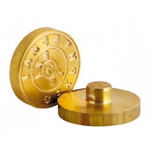 Печать металлическая диаметр 24 мм латунь