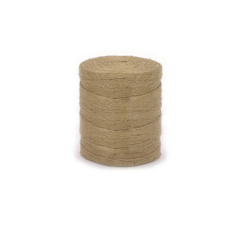 Шнур банковский джутовый полированный 1,5 кг диаметр 1,5 мм