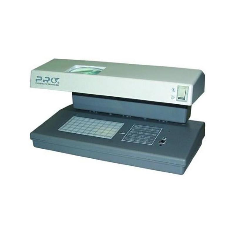 Детектор банкнот PRO-12LPM лупа УФ магнитная на 2 лампы 6 Вт серый