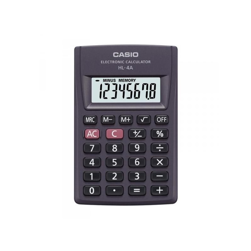 Калькулятор карманный Casio HL-4А 8-разрядный