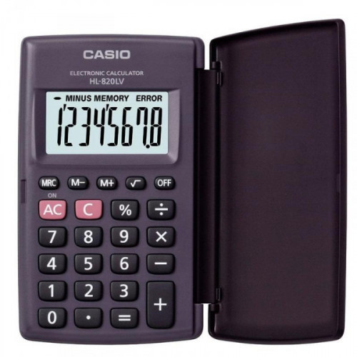 Калькулятор карманный Casio HL820LV 8-разрядный