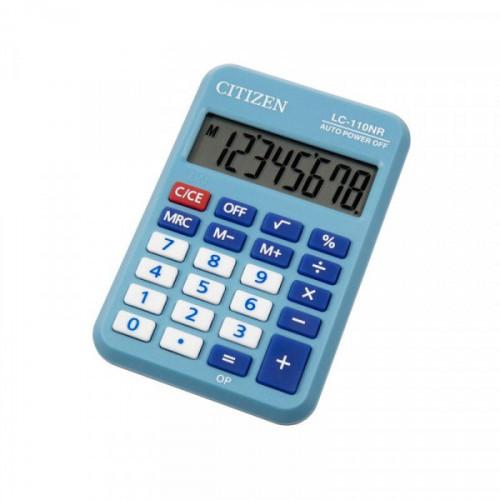 Калькулятор карманный Citizen LC110NRBL 8-разрядный синий