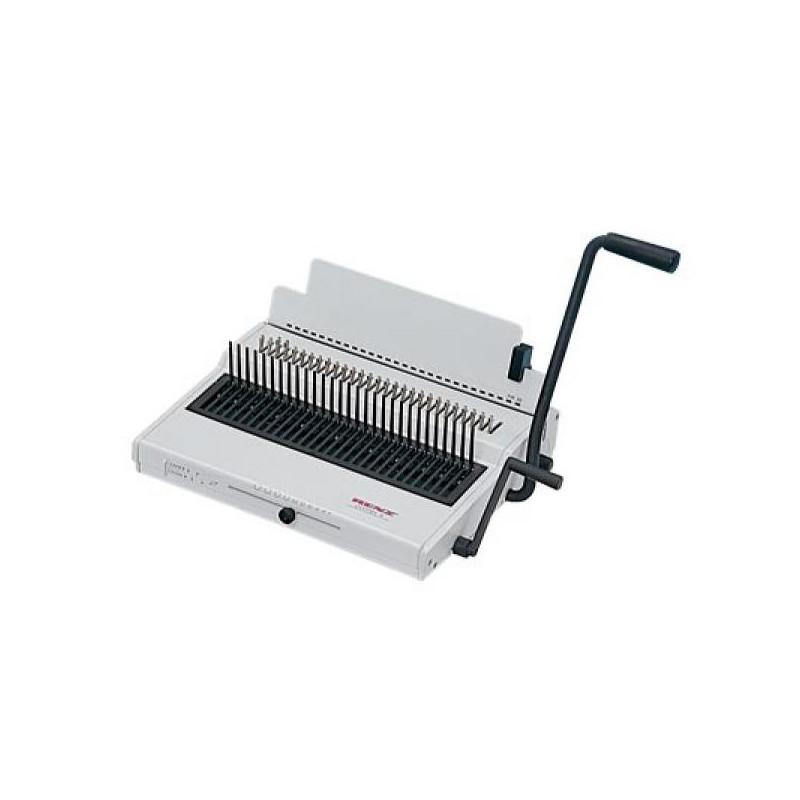 Брошюровщик Renz Combi S без ограничений до 25 листов/до 500 листов пластмассовые пружины