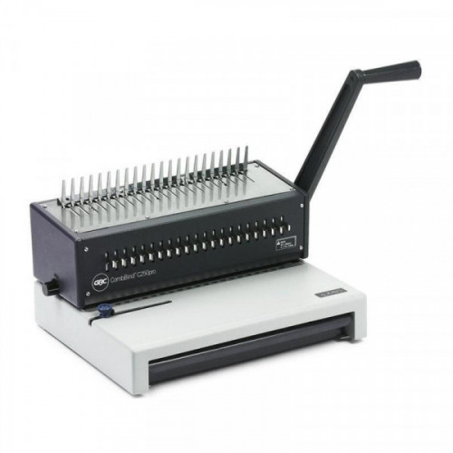 Брошюровщик GBC CombBind C250 Pro (IB271403) A4/пробивает 20 / сшивает 450/пластиковая пружина до 51мм