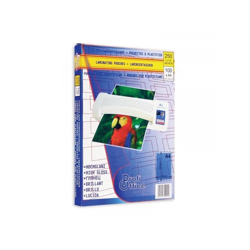 Заготовка для ламинирования А4 125 мкм 100 штук/упаковка