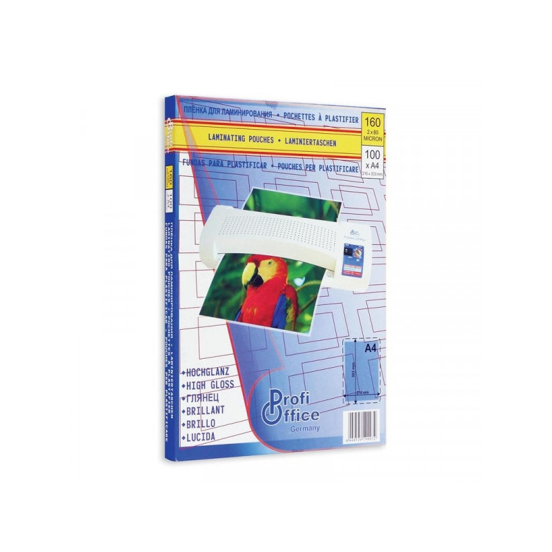 Заготовка для ламинирования А4 80 мкм 100 штук/упаковка