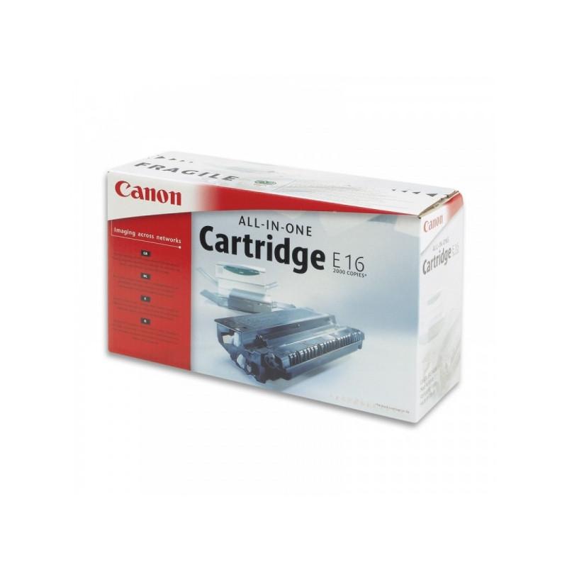 Картридж лазерный Canon E16 1492A003 черный оригинальный