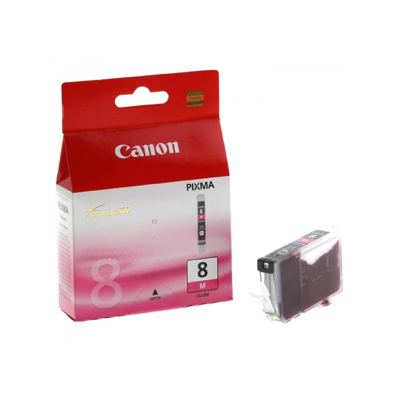 Картридж струйный Canon CLI-8M 0622B024 пурпурный оригинальный