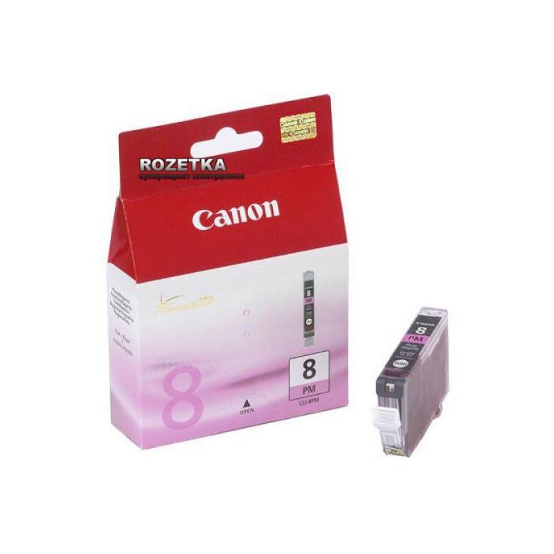 Картридж струйный Canon CLI-8PM 0625B001 пурпурный оригинальный