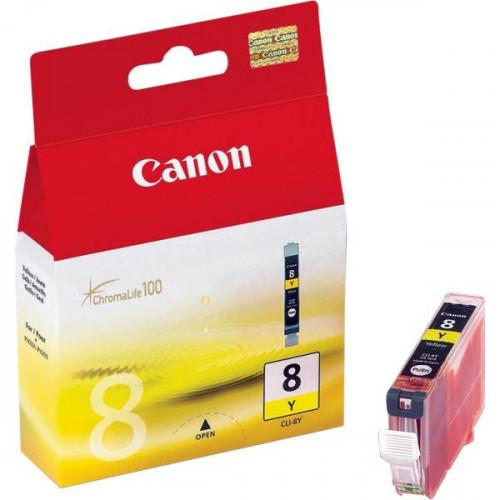 Картридж струйный Canon CLI-8Y 0623B024 желтый оригинальный