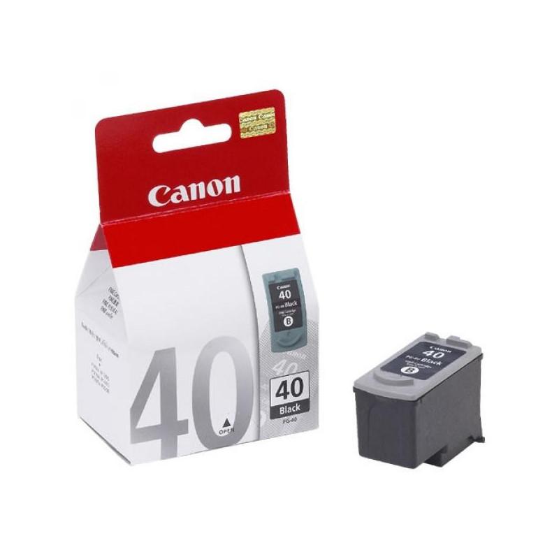 Картридж струйный Canon PG-40 0615B025 черный оригинальный