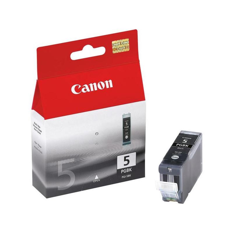 Картридж струйный Canon PGI-5BK 0628B024 черный оригинальный