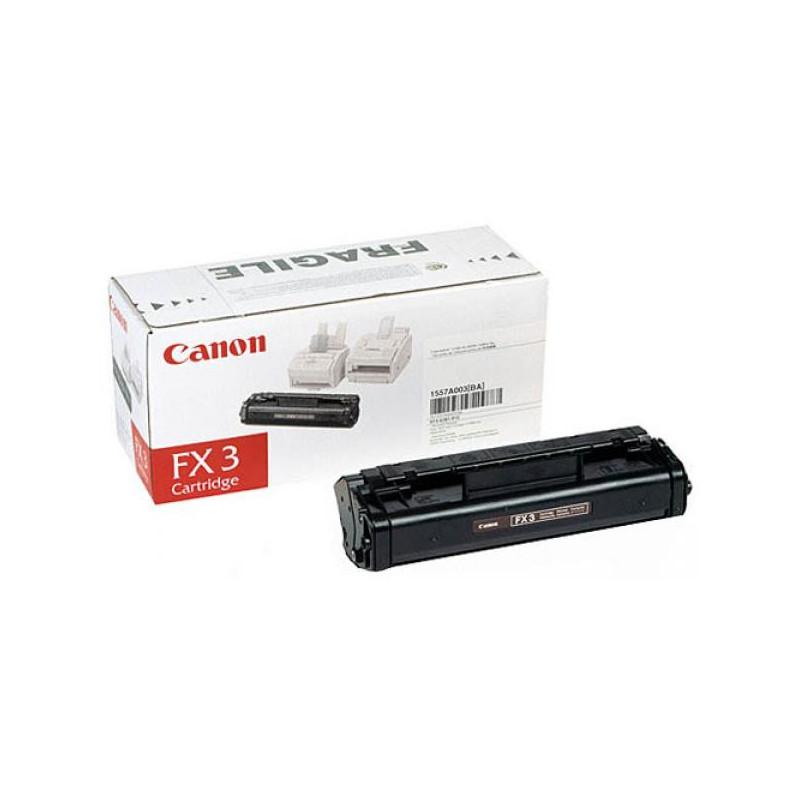 Картридж лазерный Canon FX-3 1557A003 черный оригинальный