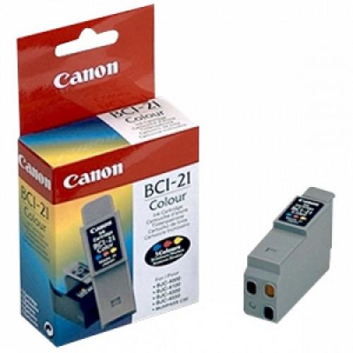 Картридж струйный Canon BCI 21С Color