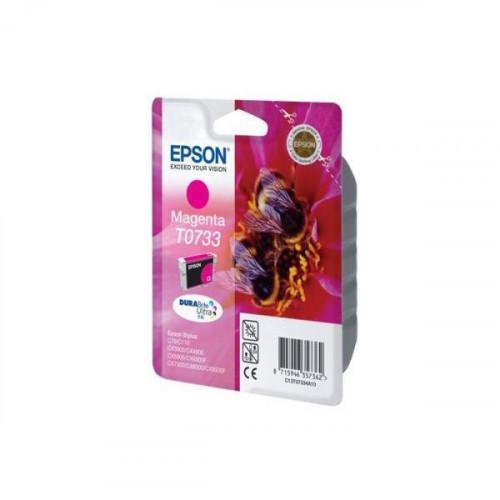 Картридж струйный Epson T0733 C13T10534A10 пурпурный оригинальный