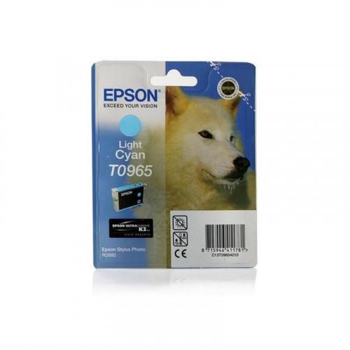 Картридж струйный Epson C13T09654010 светло-голубой оригинальный