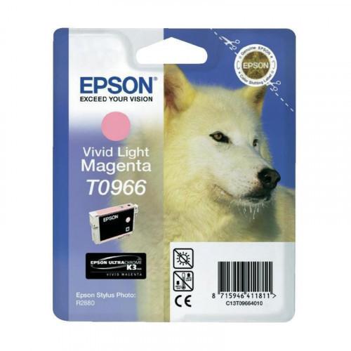 Картридж струйный Epson C13T09664010 насыщенный светло-пурпурный оригинальный