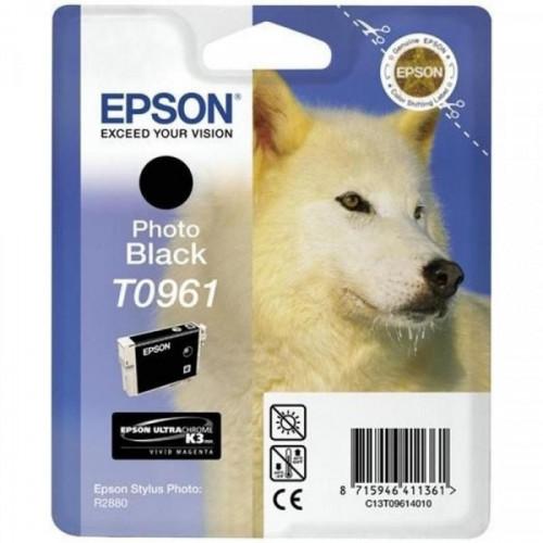 Картридж струйный Epson C13T09614010 черный оригинальный