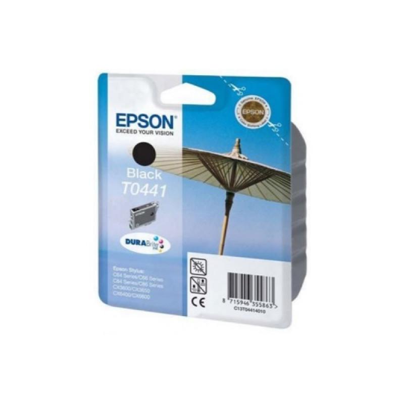 Картридж струйный Epson EPT044140 черный оригинальный