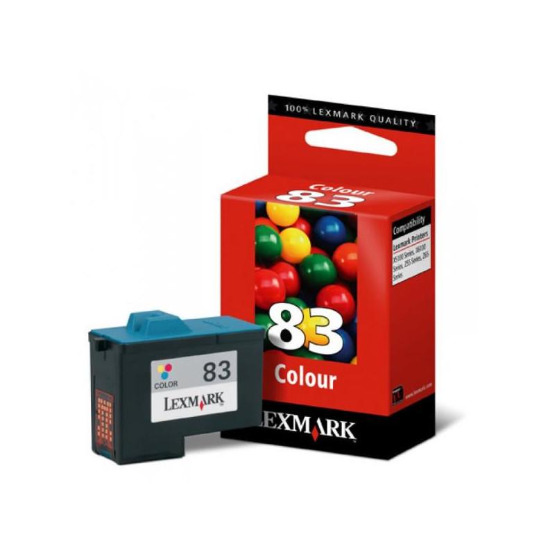 Картридж струйный Lexmark 83 18LX042 цветной оригинальный