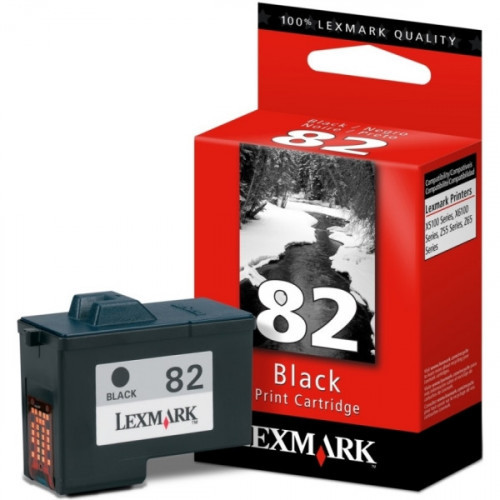 Картридж струйный Lexmark 82 18L0032 черный оригинальный