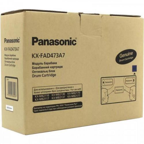 Драм-картридж Panasonic KX-FAD473A7 черный  для MB2110/2117/2130/2137