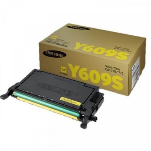 Тонер-картридж Samsung CLT-Y609S (SU563A) желтый для CLP-770ND