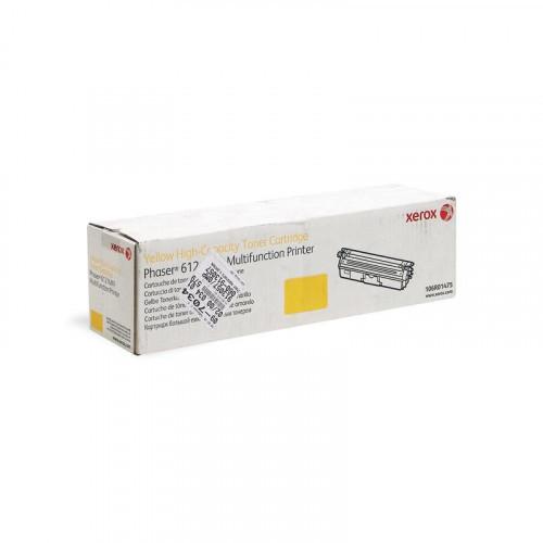 Картридж лазерный Xerox 106R01475 желтый оригинальный