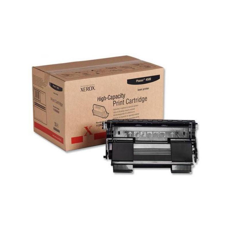 Картридж лазерный Xerox 113R00657 черный оригинальный
