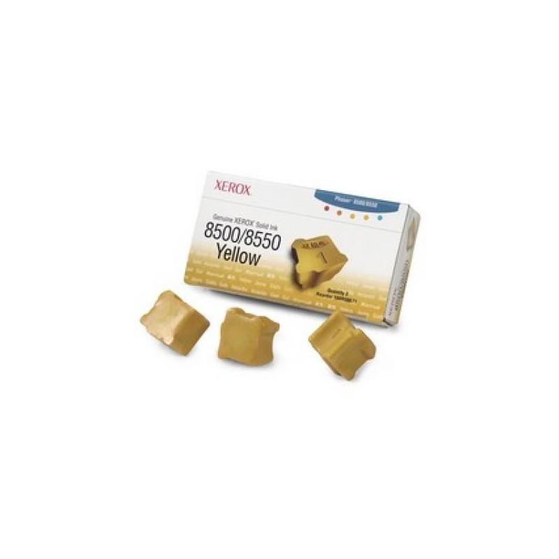 Чернила для XEROX желтые 3 штуки XX108R00766