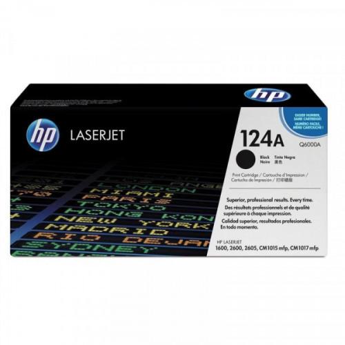 Картридж лазерный HP 124A Q6000A черный оригинальный
