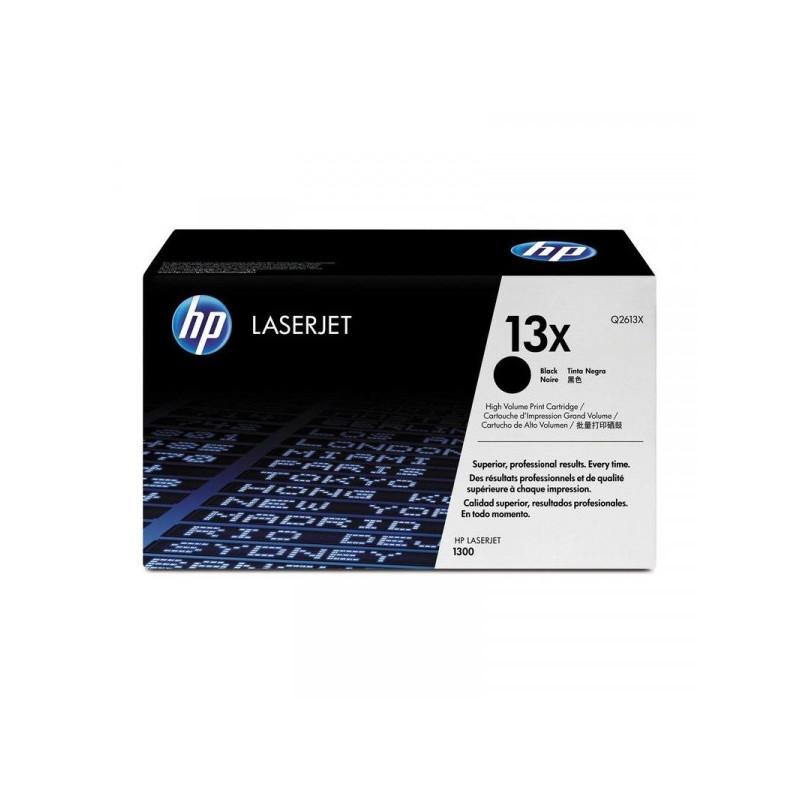 Картридж лазерный HP 13X Q2613X черный оригинальный