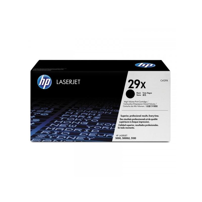 Картридж лазерный HP 29X C4129X черный оригинальный