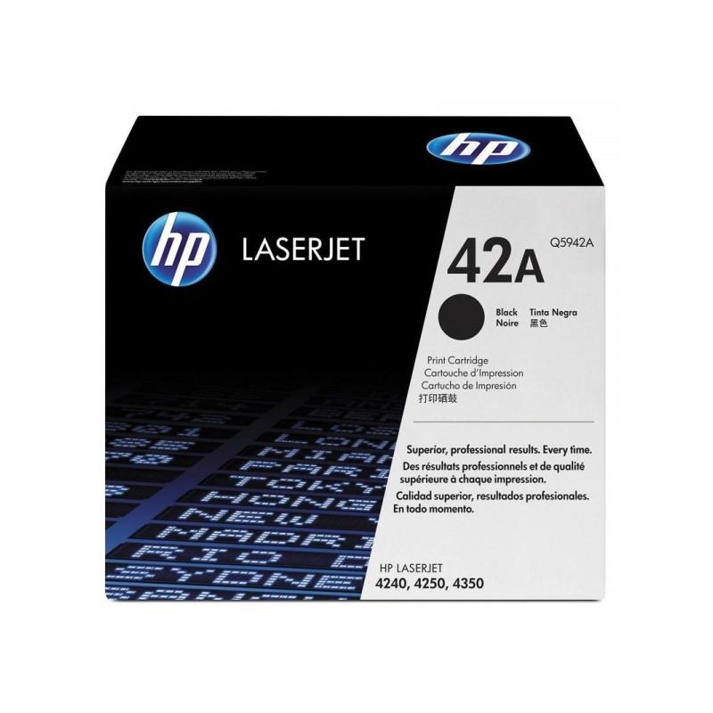 Картридж лазерный HP 42A Q5942A черный оригинальный