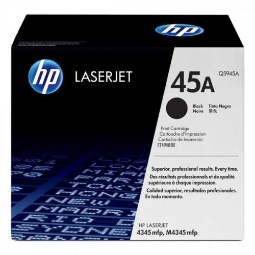 Картридж лазерный HP 45A Q5945A черный оригинальный