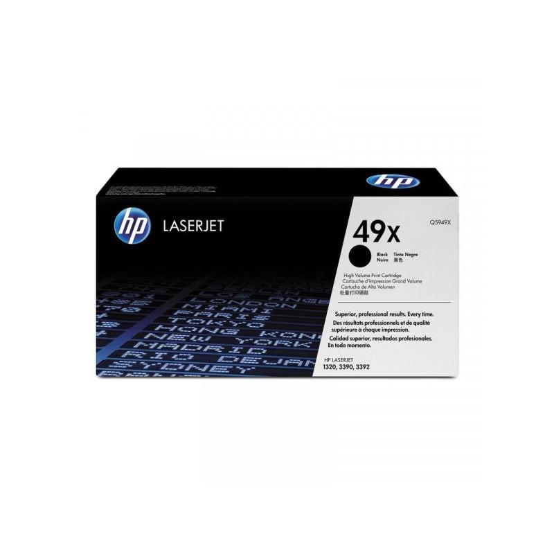 Картридж лазерный HP 49X Q5949X черный оригинальный