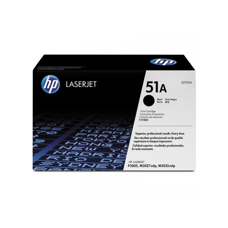 Картридж лазерный HP 51A Q7551A черный оригинальный
