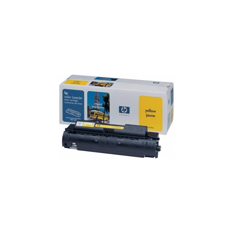 Картридж лазерный HP C4194A желтый оригинальный
