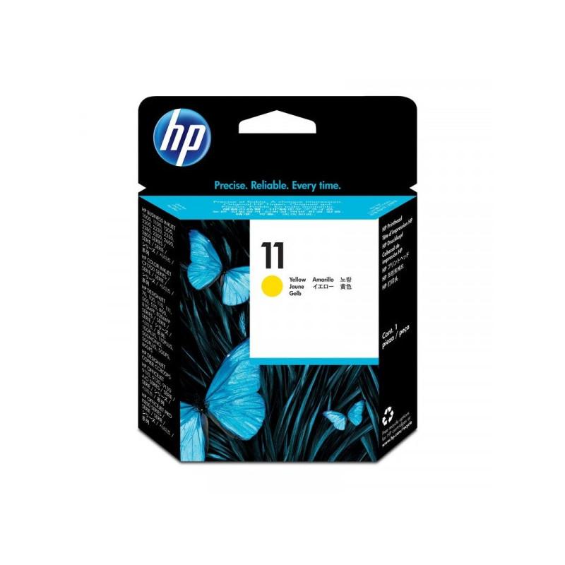 Головка печатающая HP 11 C4813A желтая оригинальная