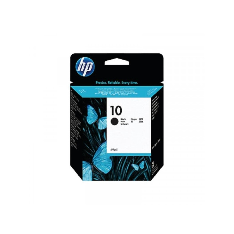 Картридж струйный HP 10 C4844A/C4840A черный оригинальный