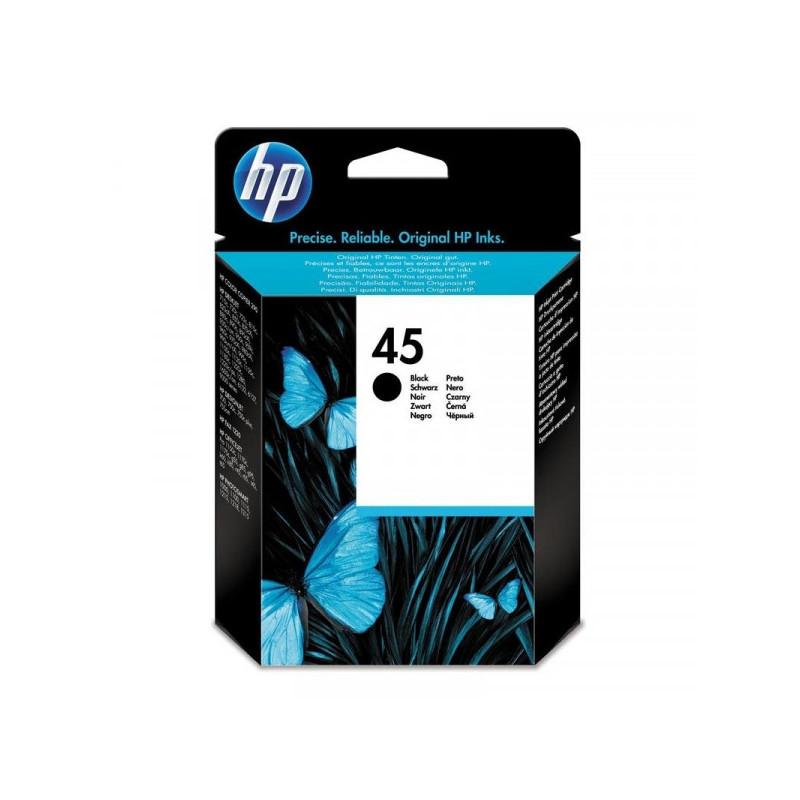 Картридж струйный HP 45 51645AE черный оригинальный