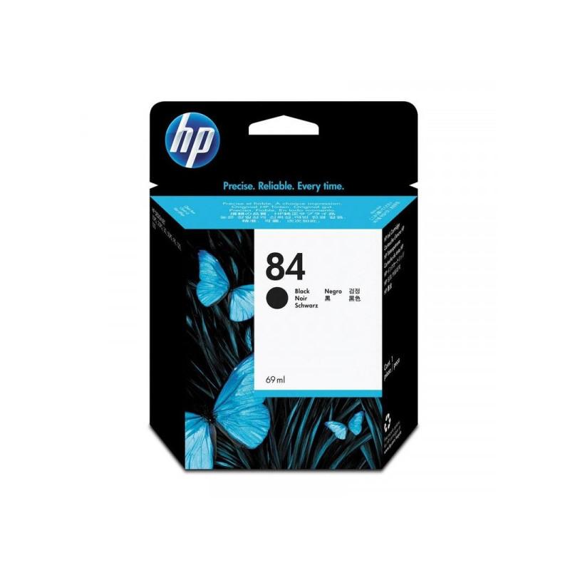Картридж струйный HP 84 C5016A черный оригинальный