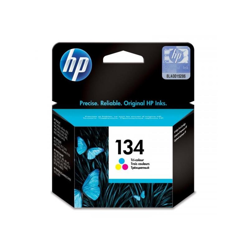 Картридж струйный HP 134 C9363HE цветной оригинальный