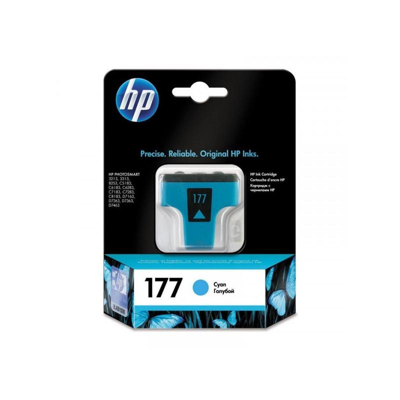 Картридж струйный HP 177 C8771HE голубой оригинальный