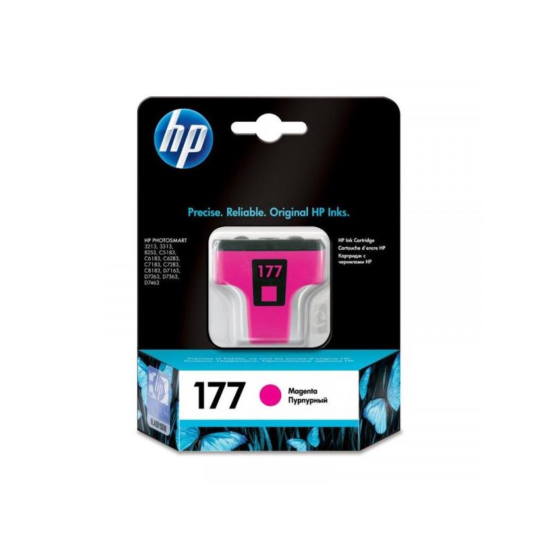 Картридж струйный HP 177 C8772HE пурпурный оригинальный
