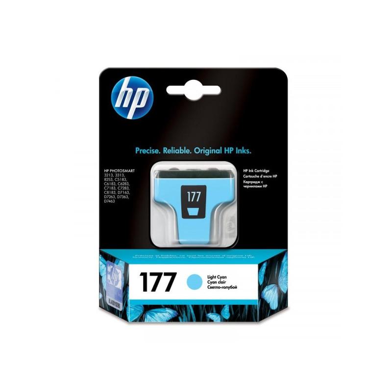 Картридж струйный HP 177 C8774HE светло-голубой оригинальный