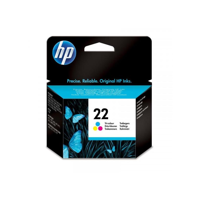 Картридж струйный HP 22 C9352AE цветной оригинальный