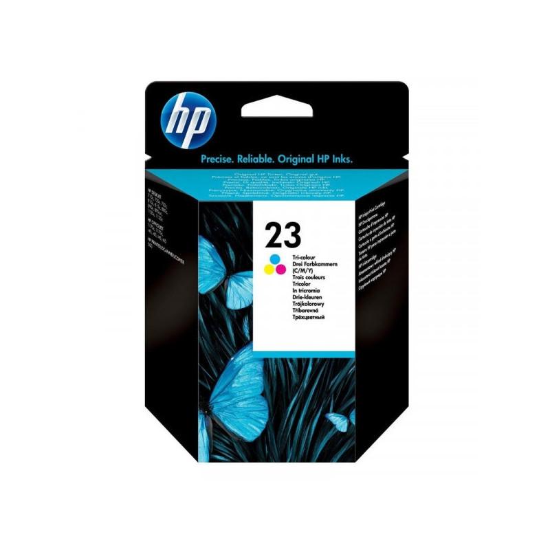 Картридж струйный HP 23 C1823D цветной оригинальный